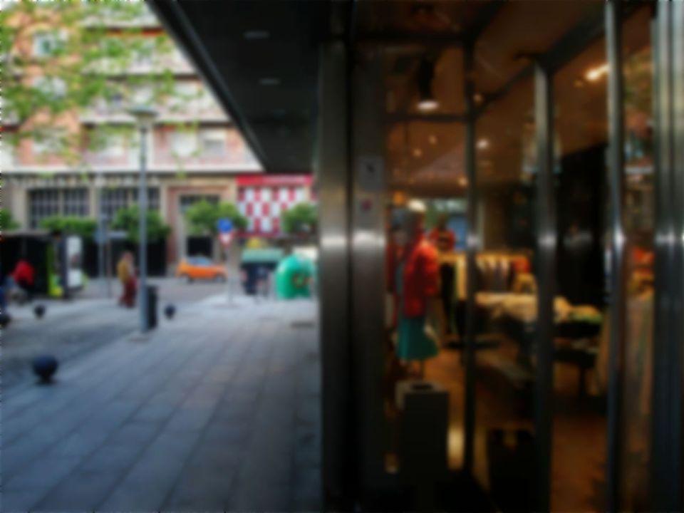 Gepflegte Einkaufsstrasse: Ein Gewinn für Bevölkerung und Wirtschaft.