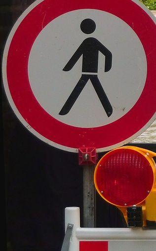Werden Fußgänger und Radfahrer bei der Tunnelsanierung in der Wallstraße ausreichend berücksichtigt?