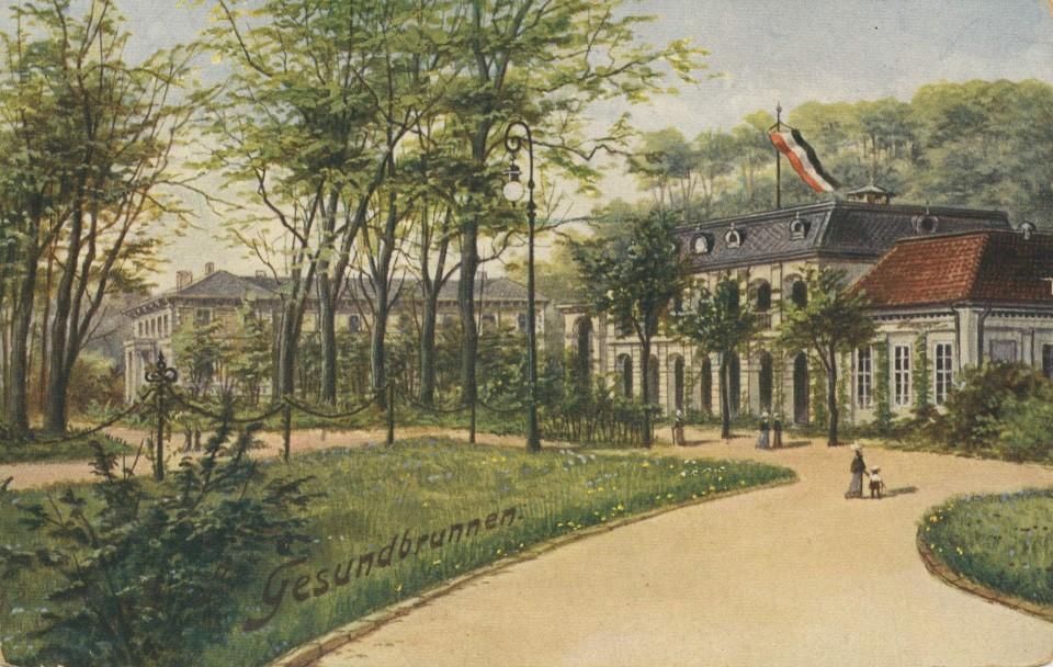 ¹ Der Gesundbrunnen um 1900. Bildquelle: ¹