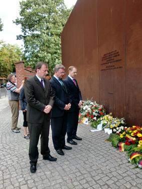 Gedenkstätte Berliner Mauer an der  Bernauer Straße