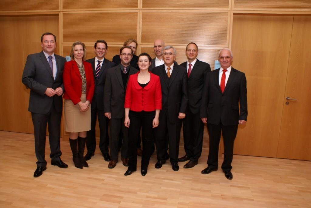 CDU-Fraktion Mitte nach der Konstituierung der BVV (Foto: Uwe Hennig)